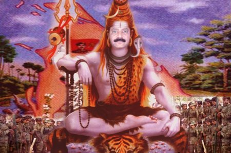 LTTE-Prabhakar-as-Shiva