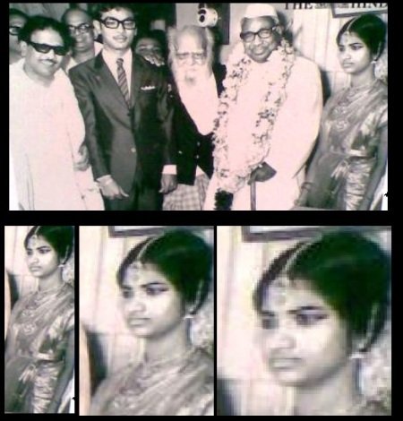 M. K. Azhagiri Tali-tied marriage with EVR