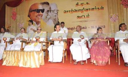 19-05-2013 - stage Somu, ..., Karunanidhi, Stalin, etc
