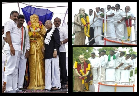 நாத்திகச் சின்னத்திற்கு மாலை, மரியாதை, பூஜை எல்லாம்
