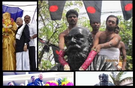 நாத்திகச் சின்னத்திற்கு மாலை, மரியாதை, பூஜை எல்லாம் வீரமணி, ரங்கநாதன்